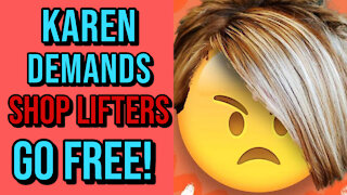 Karen Berates Store Manager Because He Called The Cops On ShopLifters! - Footage & Reaction