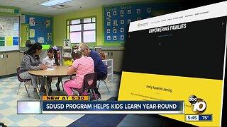 SDUSD program helps kids learn year-round