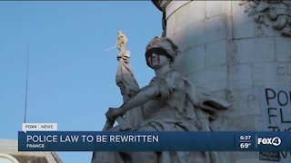 French police law to be rewritten