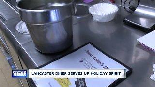Lancaster diner serves up holiday spirit