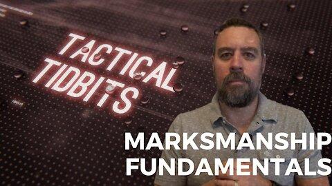 Tactical Tidbits Episode 030: Marksmanship Fundamentals