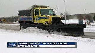 Waukesha County preparing for the winter storm