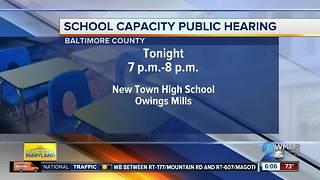 Public meeting on Baltimore County Schools capacity