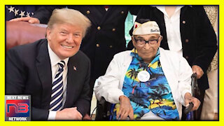 President Trump Signs Amazing Bill Honoring Oldest Pearl Harbor Survivor