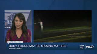 Body found may be missing Massachusetts teen