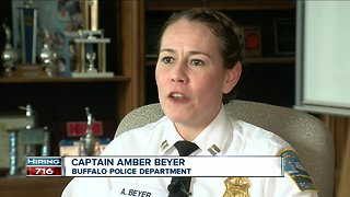 Buffalo Police aiming to bring more women on board