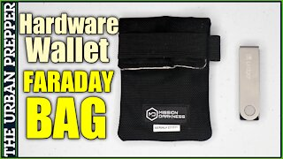 Hardware Wallet Faraday Bag | Private Key Protection for your Crypto