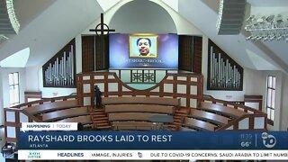 Rayshard Brooks laid to rest