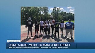 Using social media to make a difference
