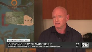 Mark Kelly discusses most controversial topics ahead of election
