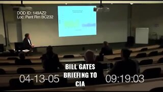 Bill Gates briefing 3 letter agency on why to vaccinate religious people