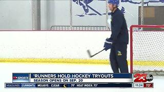 CSUB holds hockey tryouts