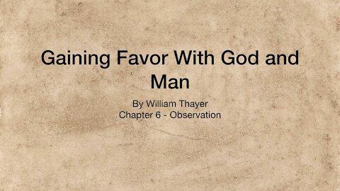 Chapter 6 - Observation