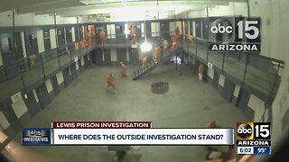 Lewis Prison investigation update