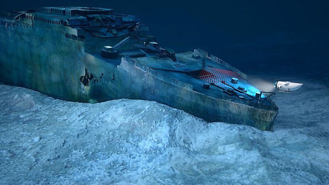The Titanic is Disappearing