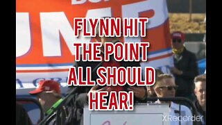 FLYNN HIT THE POINT THAT EVERYONE SHOULD HEAR!