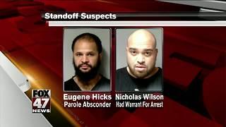 UPDATE: Men arrested after standoff to be arraigned Thursday