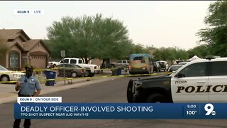 Tucson Police fatally shoot 17-year-old suspected of armed robbery