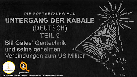 "Teil 9 / 17: Fortsetzung der Serie ""Fall Cabal"" (Untergang der Kabale) von Janet Ossebaard"