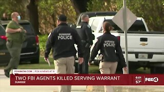 Two FBI officers shot and killed, 3 others wounded