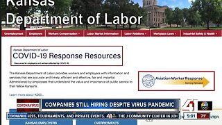 Some companies hiring during COVID-19 outbreak