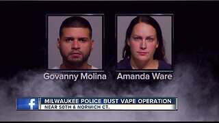 Two busted in south side vaping operation