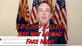 Ken Bennett Says 200,000 Ballots are not missing. Report ready by Labor Day.