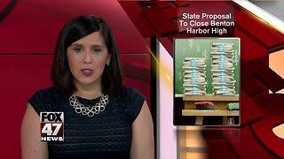 Benton Harbor unhappy with Whitmer plan to close high school