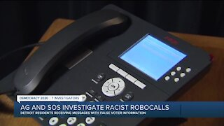 Michigan SOS warns of 'racially-charged' robocall with false information about mail-in voting