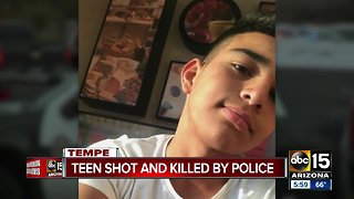 Family speaks out after teen was shot and killed by Tempe police