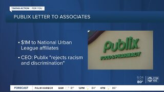 'Committed to Diversity:' Publix to donate $1 million to civil rights efforts