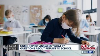 UNMC expert answers 'what if' questions about return to school