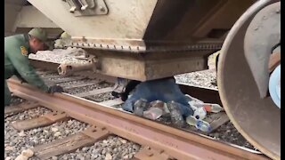 Look What Border Patrol Found Hiding In A Train Going To U.S