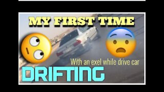 MY FIRST TIME DRIFTING with bmw