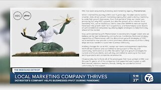 Local marketing company thrives in COVID-19 pandemic