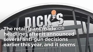 Dick's Gets Stung as Anti-Gun Policies Hit Its Bottom Line