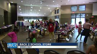 Back 2 School Store helps families prepare for upcoming year