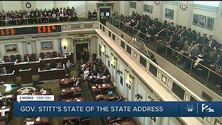 Governor Stitt delivers state of the state