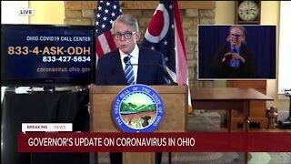 Ohio Gov. DeWine gives Nov. 12 COVID-19 update