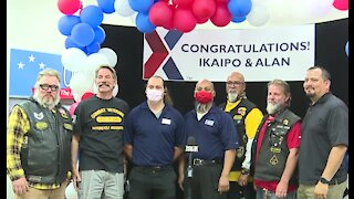 Nellis Air Force Base Exchange employees honored by Red Cross