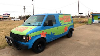 Scooby Doo's REAL Mystery Machine Spotted!