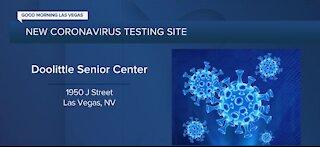 Doolittle Senior Center opens coronavirus testing site