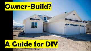HOW TO BUILD YOUR OWN HOUSE!