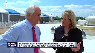 Fmr. WXYZ reporter Mary Conway to join Michigan Journalism Hall of Fame