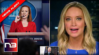 SAVAGE! Kayleigh McEnany Goes SCORCHED EARTH on Psaki with BRUTAL Jab