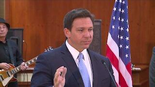 Governor DeSantis signs COVID liability bill today