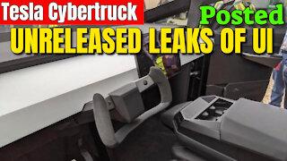 Tesla Cybertruck LEAKED UI Animation & FSD By Former Tesla Employee!