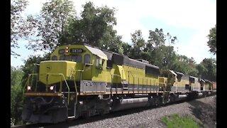 New York Susquehanna & Western, Train Chase North From Cortland