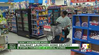 Walmart launches home delivery
