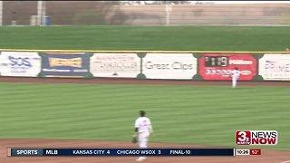 Nebraska baseball defeats UNO at Werner Park